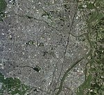 Koriyama city center area Aerial photograph.2014.jpg