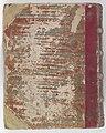 Korte verhandeling van God, de mensch, en deszelvs welstand - KB 75 G15 - Back of half-parchment binding from circa 1700.jpg