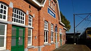 Kortemark - Image: Kortemark station 1810300852