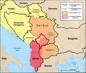 2008 Kosovo declaration of independence - Wikipedia on map of senegal, map of macedonia, map of bulgaria, map of benin, map of united states, map of slovenia, map of european countries, map of malta, map of latvia, map of guam, map of puerto rico, map of australia, map of yugoslavia, map of bosnia, map of laos, map of slovakia, map of india, map of alps, map of montenegro,
