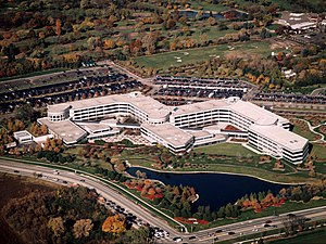 Kraft Foods Inc. - Kraft headquarters in Northfield, Illinois