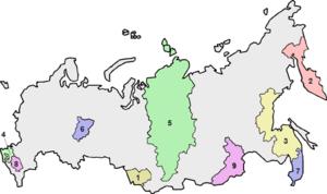 Krais of Russia - Image: Krais of Russia