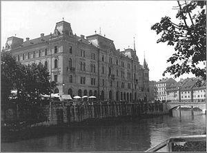 Kresija Building - Kresija Building in 1898