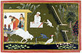 Krishna plays with a cobra; Balarama steals a sword (6124555587).jpg