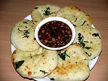 Chole Kulche Street Food