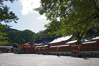 Kumano Hayatama Taisha - A view of Kumano Hayatama Taisha