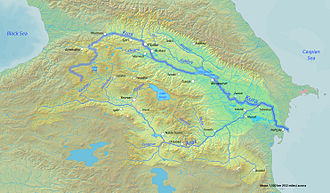 Bodies of water of Azerbaijan - The Kur and Aras are the longest rivers of Azerbaijan and their drainage basin covers most of the country.