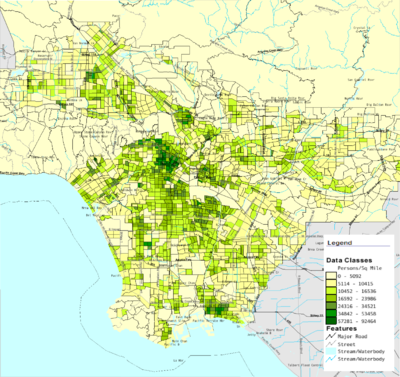 Demographics Of Los Angeles County Wikipedia