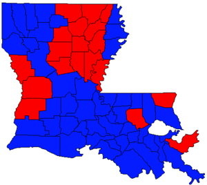 Louisiana gubernatorial election, 1991 - Image: LA Gov Election Nov 91