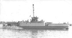 """אח""""י ניצנים בנמל חיפה, 1949"""