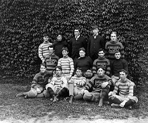 1899 LSU Tigers football team - Image: LSU Football Team 1899
