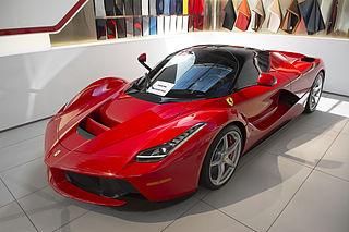 LaFerrari V12 sports car manufactured by Italian automobile manufacturer Ferrari as a successor to the Enzo Ferrari from 2013–2018