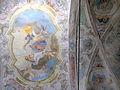 La Brigue - Chapelle Notre-Dame-des-Fontaines - Décor de la voûte de la nef -1.JPG