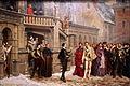 La Rencontre d'Henri III et du duc de Guise - Pierre-Charles Comte - MBA Lyon 2014.jpg