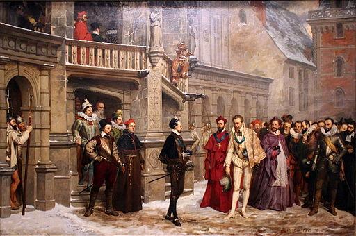 La Rencontre d'Henri III et du duc de Guise - Pierre-Charles Comte - MBA Lyon 2014