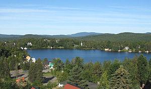 Lac-Beauport, Quebec - Image: Lac Beauport(Québec)
