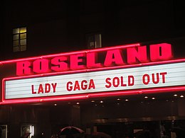 Lady Gaga Sold Out at Roseland Ballroom.jpg