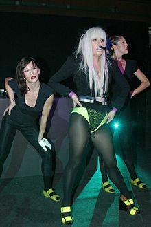 Primo concerto al di fuori degli USA: Lady Gaga alla Michalsky StyleNite di Berlin Fashion Week, luglio 2008