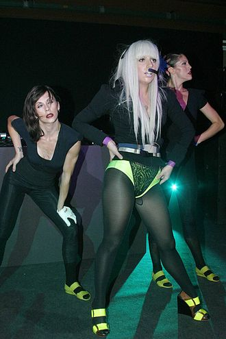 Berlin Fashion Week - Image: Lady gaga MICHALSKY Style Nite 2008