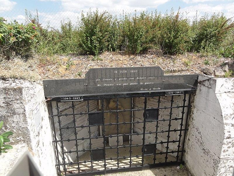 Laffaux (Aisne) Mémorial du Moulin de Laffaux