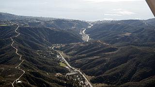 Laguna Canyon landform