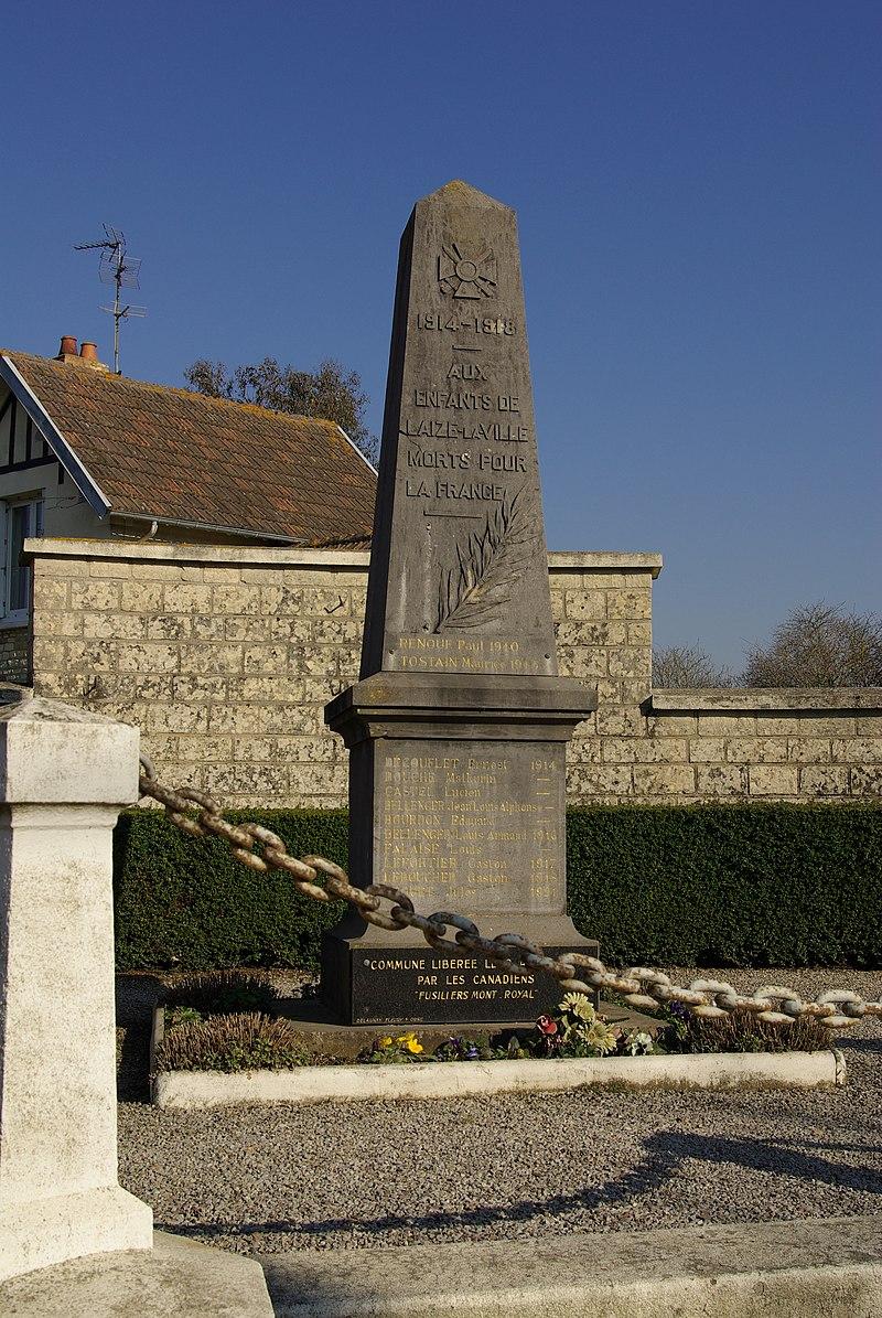 Laize-la-Ville war mémorial.JPG