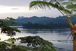 Lake Sebu - The lake taken at the Punta Isla Lake Resort