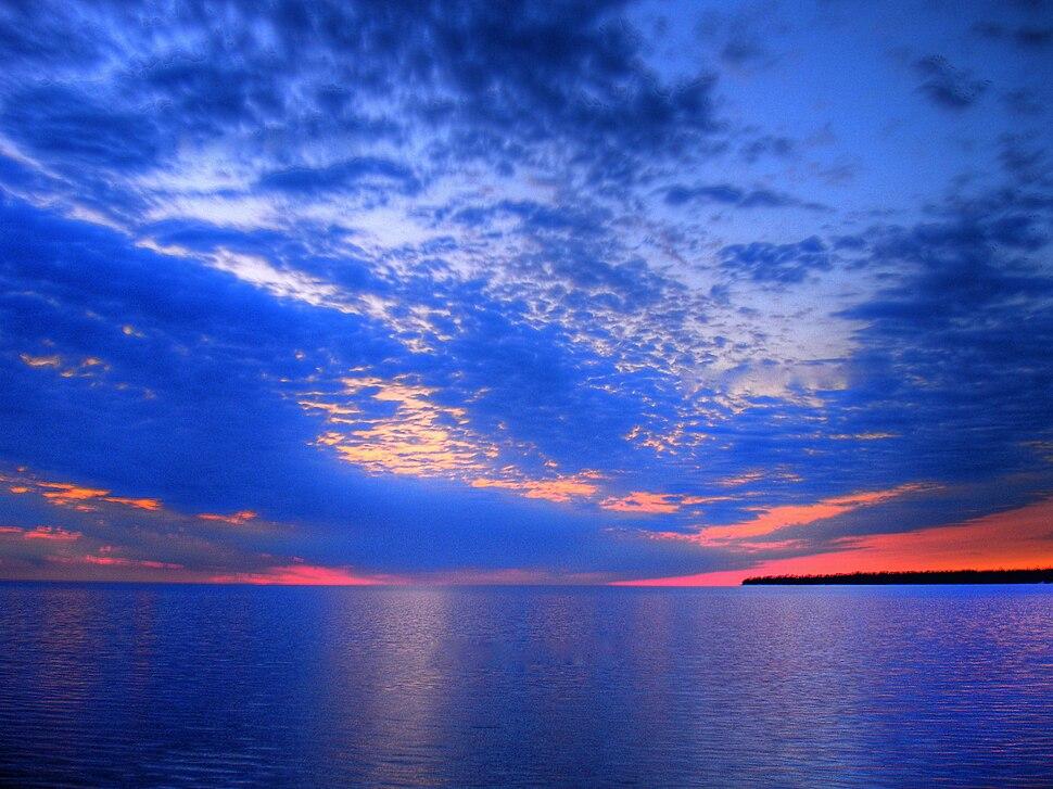 Lake winnipeg HDRI