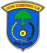 Coat of arms of Ogan Komering Ilir Regency