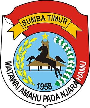East Sumba Regency - Image: Lambang Kabupaten Sumba Timur