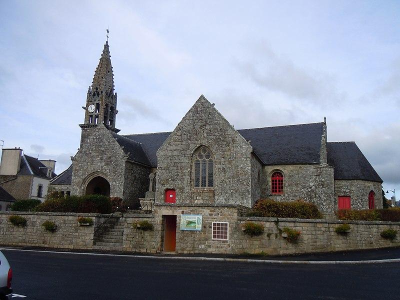 église paroissiale Saint-Barnabé de Langoëlan (département du Morbihan)