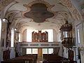 Langquaid Kirche Sankt Jakobus Orgelempore.jpg