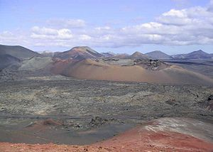Enemy Mine (film) - Timanfaya National Park where filmed