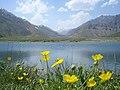 "Lar, ""Kahrizak darre"" Lake لار، دریاچه کَهریزَک دره وکوههای خَرسنگ - panoramio.jpg"