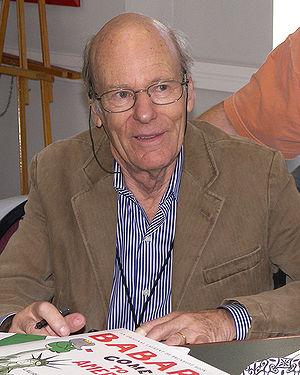 Laurent de Brunhoff - Laurent de Brunhoff at the 2008 Texas Book Festival
