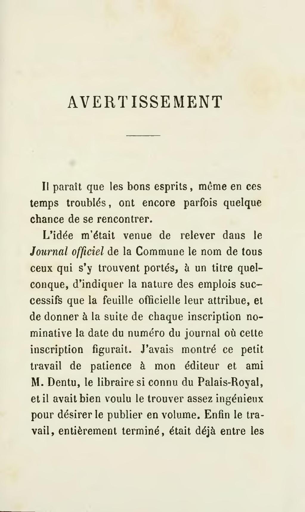 Page Le Livre Rouge De La Commune Extrait Du Journal