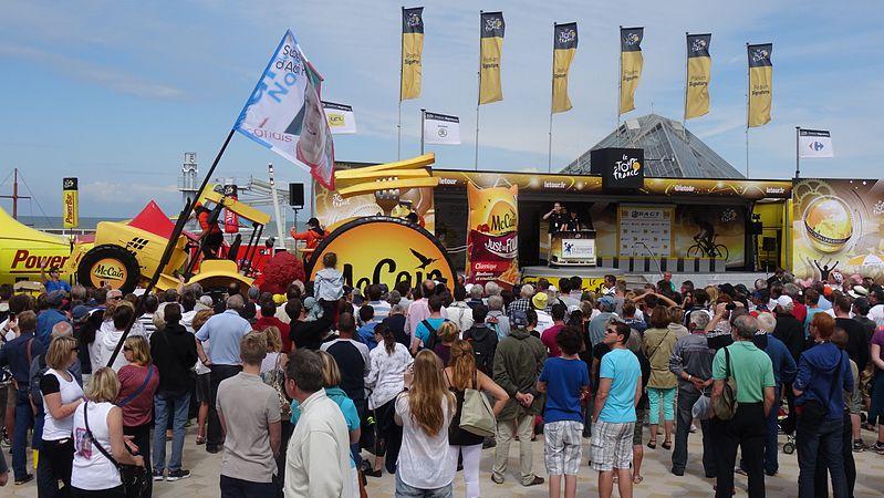 Le Touquet-Paris-Plage - Tour de France, étape 4, 8 juillet 2014, départ (A48).JPG