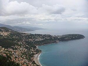 Cape Martin - Cape Martin seen from the Principality of Monaco.