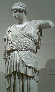 Lemnian Athena sculpture by Phidias