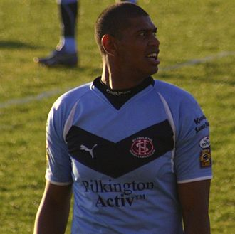 Leon Pryce - Pryce playing for St Helens in 2008