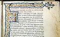 Leonardo bruni, traduzione della vita marci antonii di plutarco, firenze 1450-75 ca. (bml, san marco 332) 02.jpg