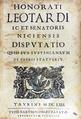 Leotardo - Disputatio quid ius iustinianeum, 1662 - 245.tif