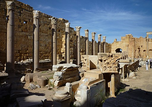 Leptis Magna - Severan Basilika