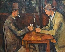Les Joueurs De Cartes Cézanne Wikipédia