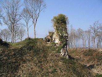 Montfort-sur-Risle - Image: Les ruines du château de Montfort sur Risle