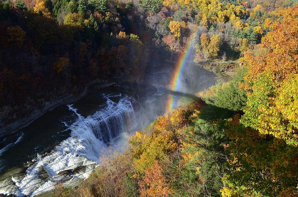 Letchworth State Park in autumn
