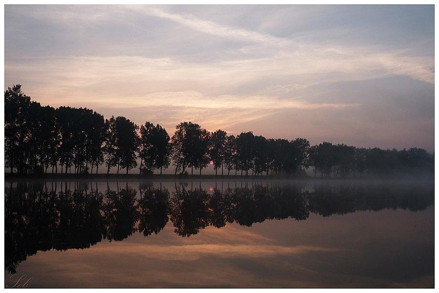 Lever de Soleil sur les étangs Thirier