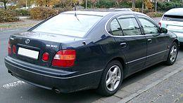 Lexus GS 300 rear 20071026