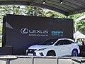 Lexus RX 300 white at Walk of Fame 20191005a.jpg