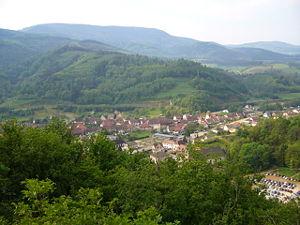 Lièpvre - Lièpvre from le Kast